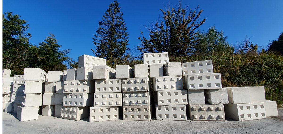 Eko betonski bloki