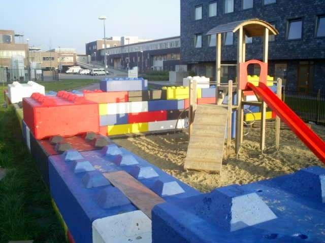 Eko betonski bloki LEGO